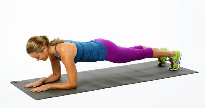 Bài tập theo tư thế tấm ván – plank
