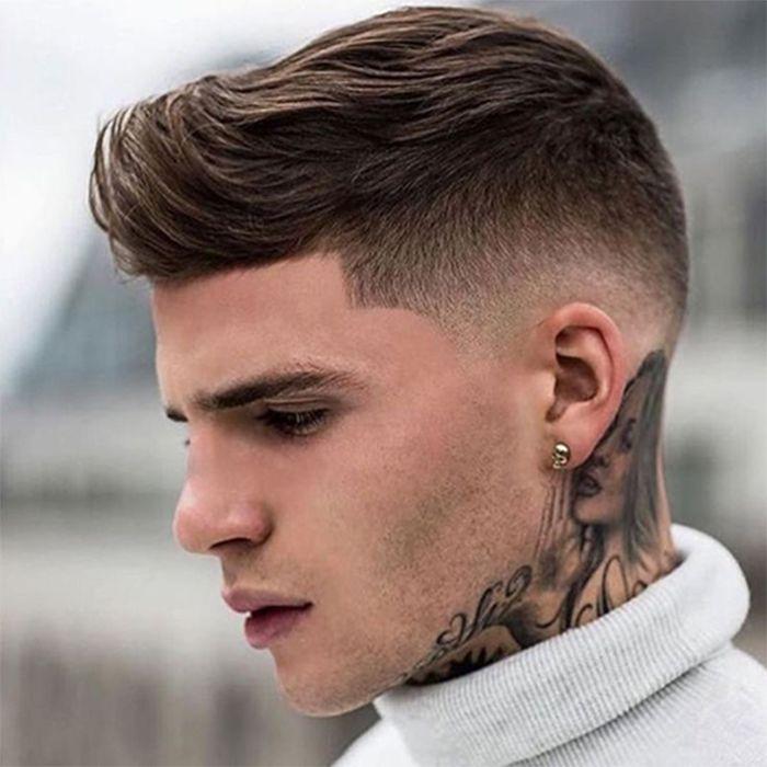 Kiểu tóc nam Short quiff