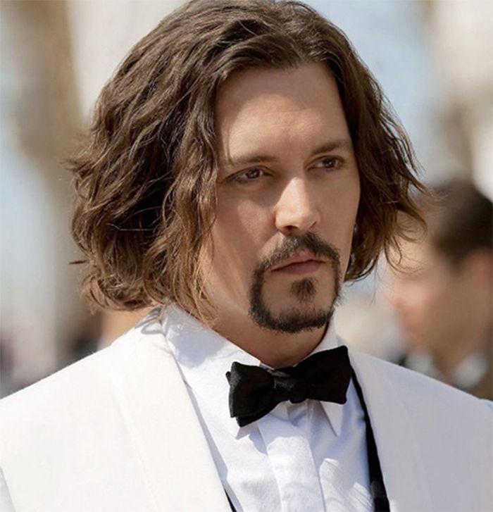 Kiểu tóc nam Tóc dài