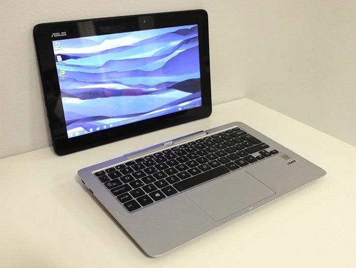 laptop lai mỏng nhẹ - asus transfomer book t200