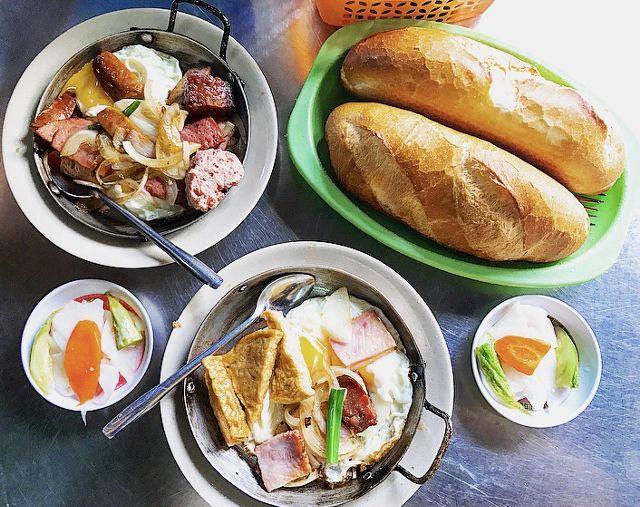 Bánh mì Hoà Mã - món ăn ngon