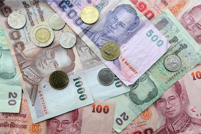 tiền ngoại tệ - bath thái
