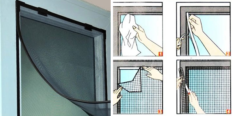 Cách tự làm cửa lưới chống muỗi tại nhà hiệu quả