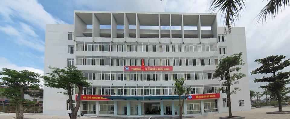 Trường THPT Chuyên Thái Bình - trường thpt hàng đầu việt nam