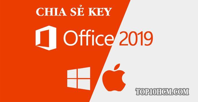Bộ Key Office 2019 professional plus bản quyền mới nhất