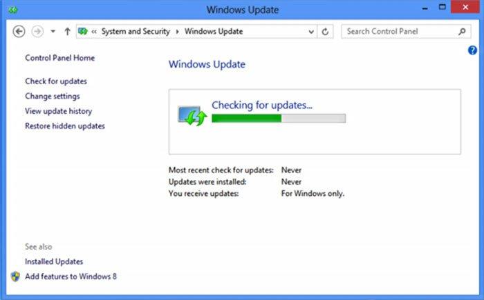 việc không nên làm khi dùng máy tính - không update win