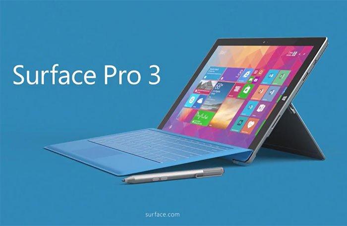 laptop lai mỏng nhẹ - sufface pro 3