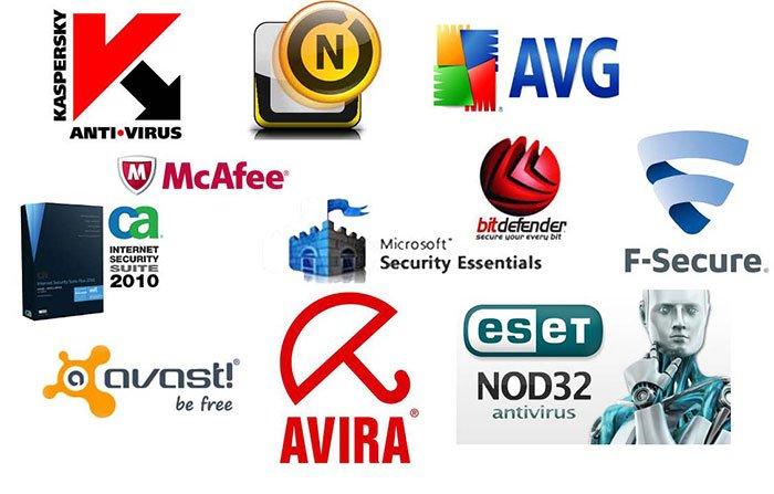 quá nhiều phần mềm diệt virus