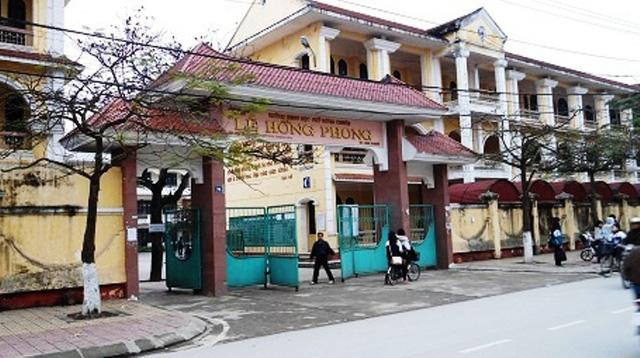 Trường THPT Lê Hồng Phong - trường thpt hàng đầu việt nam