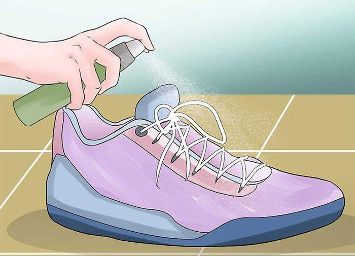 xịt khử mùi giày