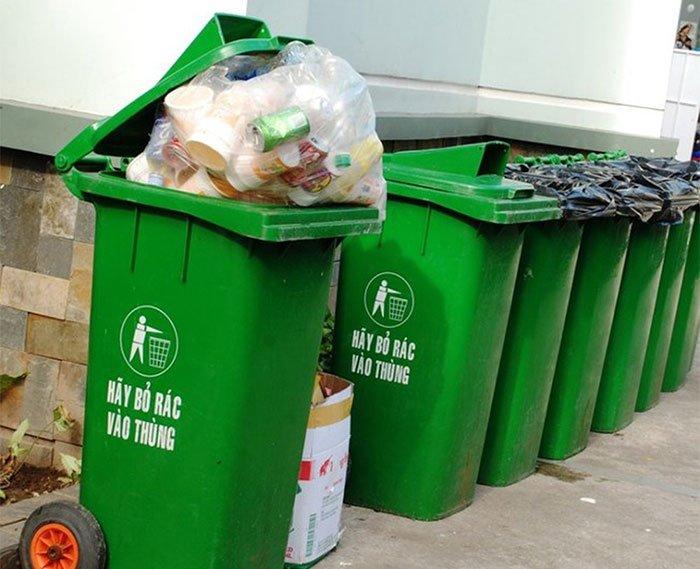 cần phải thận trong khi xử lý rác thải