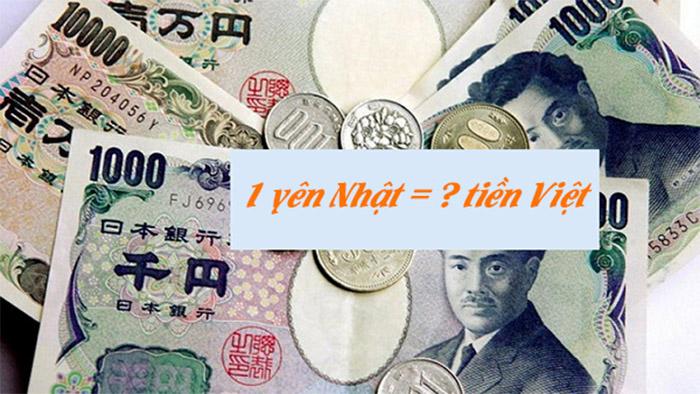 Tỷgiá đồng YENto VND