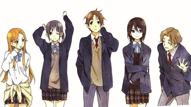 anime học đường