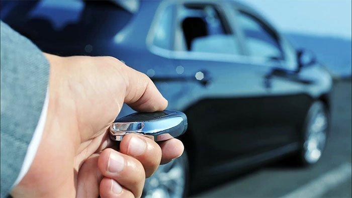 công nghệ quan trong cho ô tô - chìa khóa thông minh