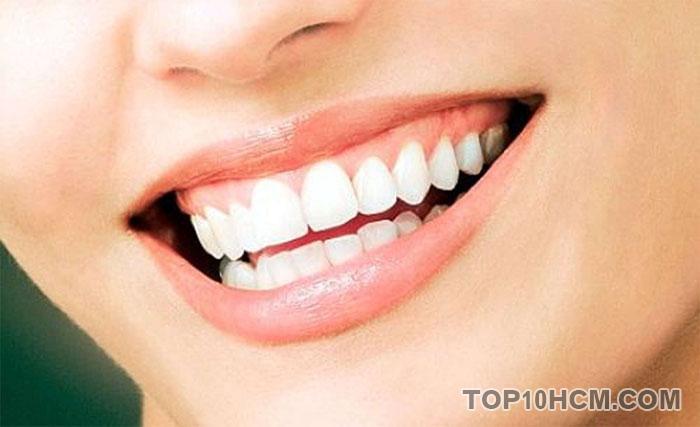 công dụng của sữa chua - giúp răng chắc khỏe