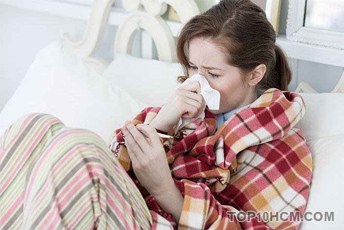 trị cảm lạnh