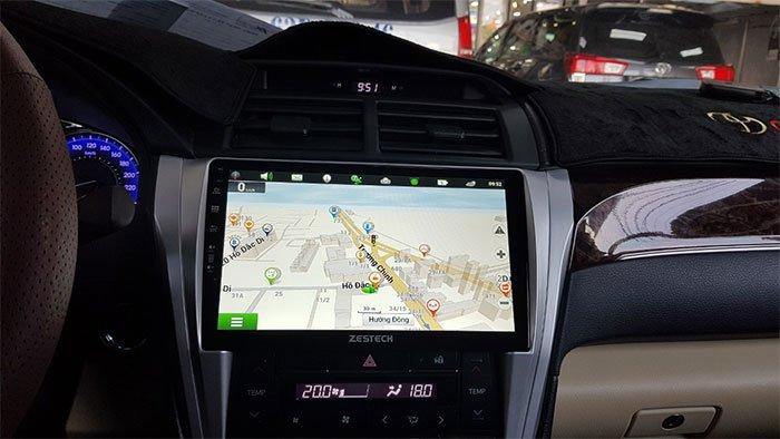 công nghệ quan trong cho ô tô - gps dẫn đường