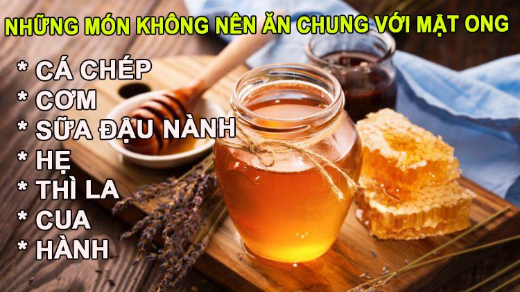 Dùng mật ong với mọi loại thực phẩm