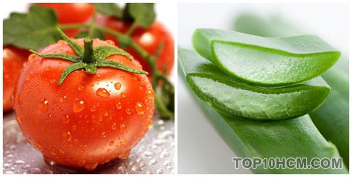 cách làm da sáng mịn với cà chua - dưỡng ẩm bằng cà chua