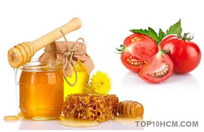 cà chua và mật ong