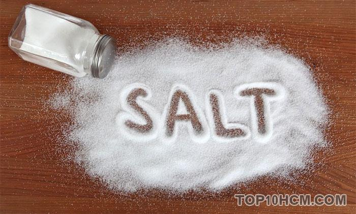 dùng muối để đánh trứng