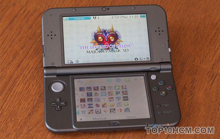mẫu máy chơi game cầm tay - new nintendo 3ds xl