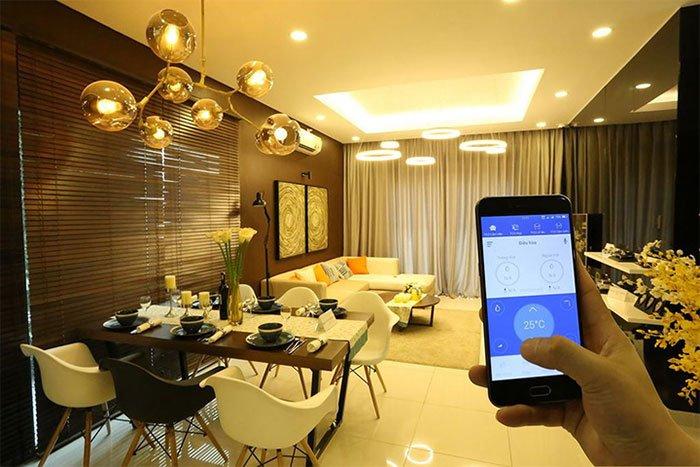 lợi ích của nhà thông minh - điều khiển ánh sáng
