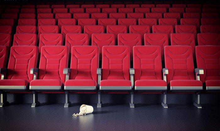 rạp phim chứa đày rác