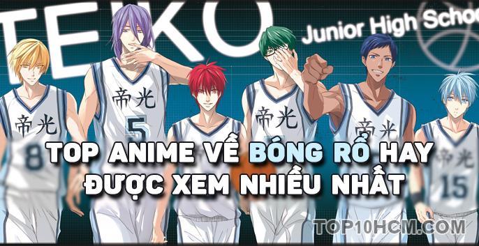 Top anime về bóng rổ hay