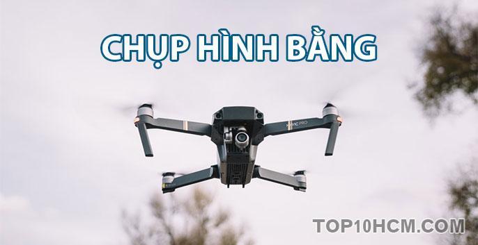 Chụp hình bằng flycam đẹp