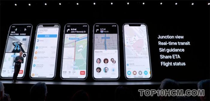 apple map chuẩn xác hơn