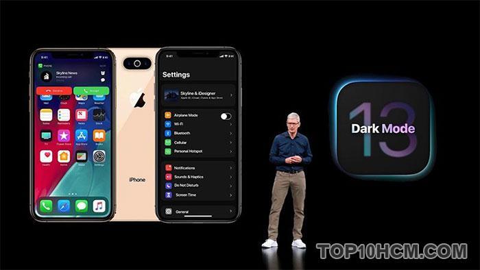điều cần viết về iOS 13 và iPadOS 13 - dark mode