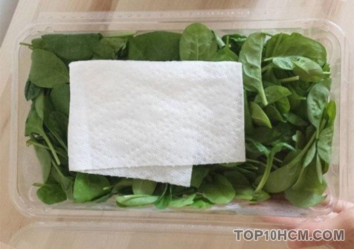 mẹo vặt đơn giản trong cuộc sống - dùng khăn giấy