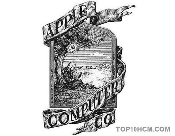 những điều thú vị về Apple - logo đầu tiên