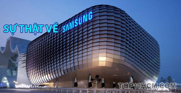 những sự thật thú vị về Samsung
