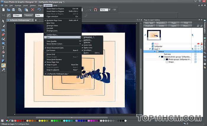 phần mềm Xara Photo & Graphic Designer