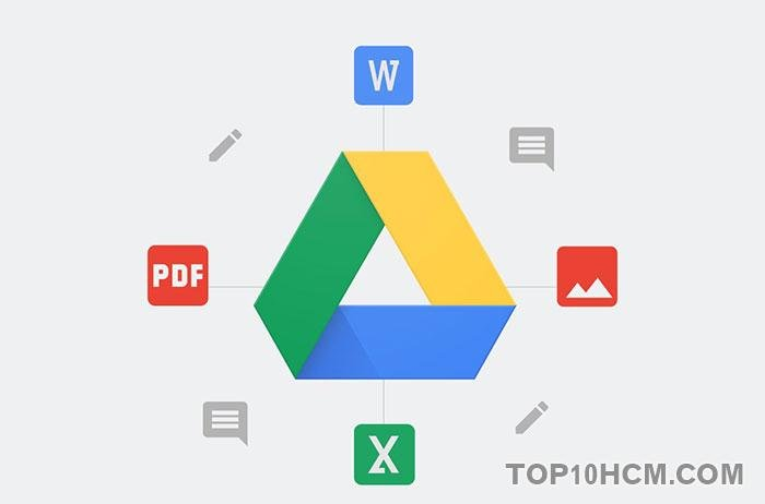 phần mềm đọc file PDF miễn phí - Google Drive