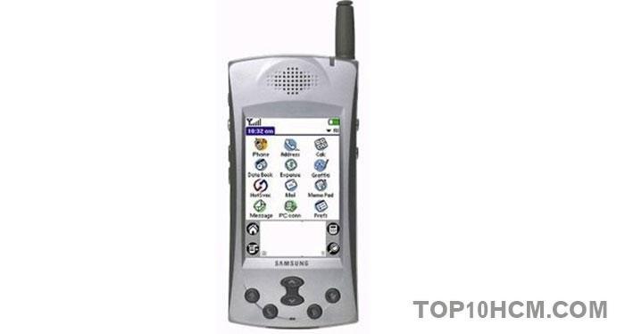 """chiếc """"smartphone"""" đầu tiên của samsung"""