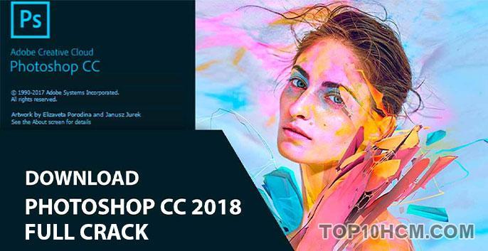 phần mềm photoshop cc 2018 full crack