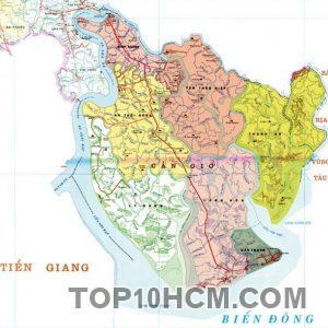 Bản đồ Huyện Cần Giờ TPHCM