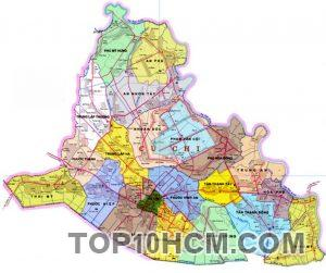 Bản đồ Huyện Củ Chi TPHCM