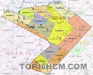 Bản đồ Quận 3 TPHCM
