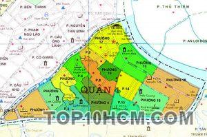 Bản đồ Quận 4 TPHCM