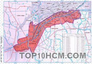 Bản đồ Quận 8 TPHCM