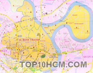 Bản đồ Quận Bình Thạnh TPHCM