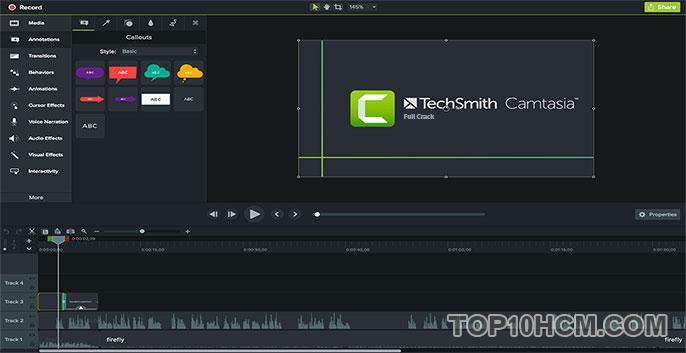 phần mềm camtasia studio 9 full crack