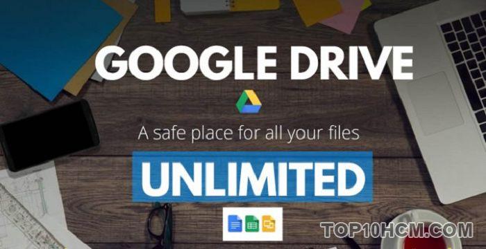 Mua tài khoản google drive unlimited