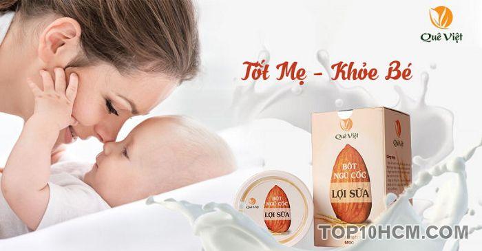 Ngũ cốc lợi sữa của thương hiệu Quê Việt