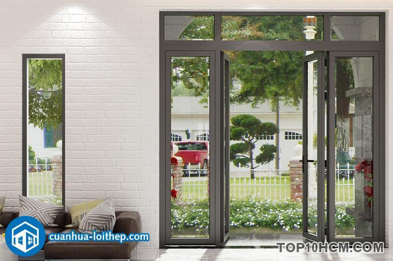 Top 5 kiểu cửa nhôm kính xingfa hiện đại theo phong cách Tây