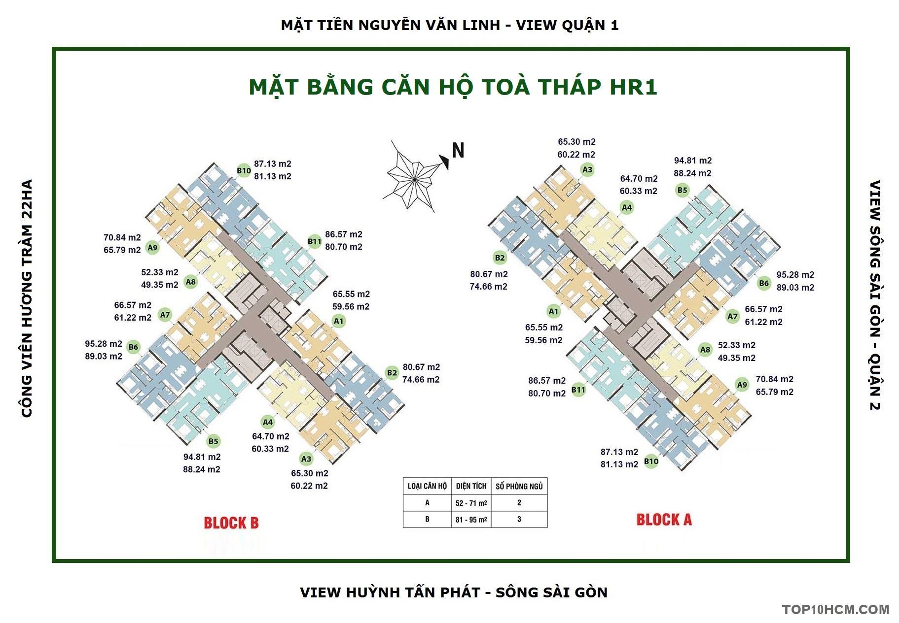 Địa chỉ căn hộ mẫu Dự án Ecogreen Saigon và Bảng giá Dự án